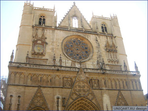 Франция. Лион. Собор Сен-Жан / France. Lyon. Lyon Cathedral